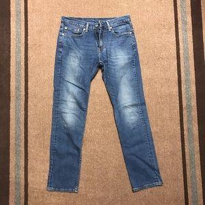 Levi's 511 Slim Denim Jeans Pants 32 32